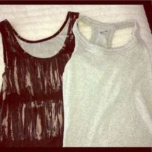Slim tank bundle - womens small